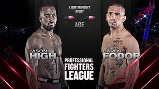 #PFLDaytona: Jason High vs. Caros Fodor Lightweight Full Fight
