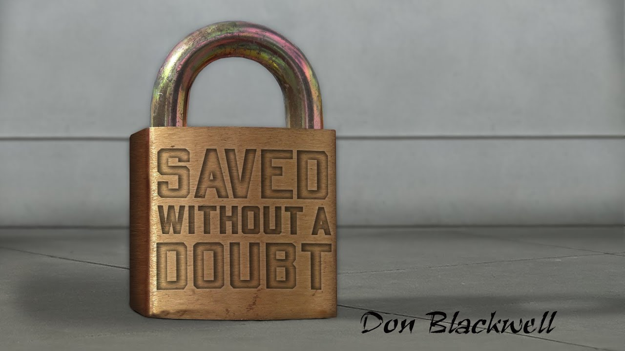 """FREE Book: """"Saved Without a Doubt"""""""