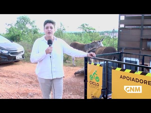 PROJETO 'CICLO CERTO' VISA PROTEÇÃO AOS ANIMAIS E INCENTIVO À RECICLAGEM