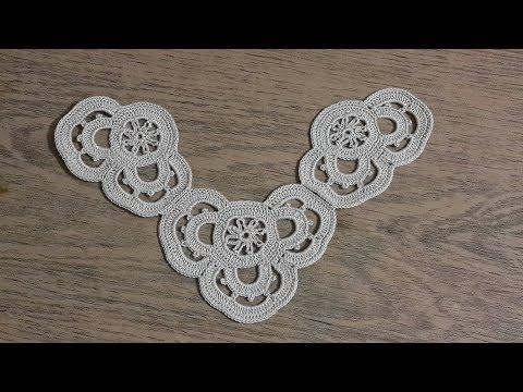 Peçete Kenarı Danteli Yapımı, Tığişi Örgü, Crochet Part 1