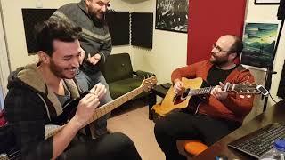 SIFIRDAN ŞARKI KAYDI - 4 ( Akustik Gitar - Bass Gitar Kaydı ve Düzenlemesi)