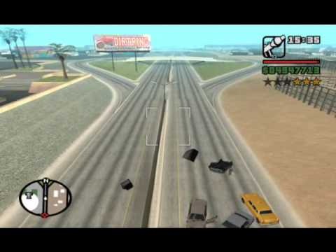 GTA San Andreas Bubble Car fun