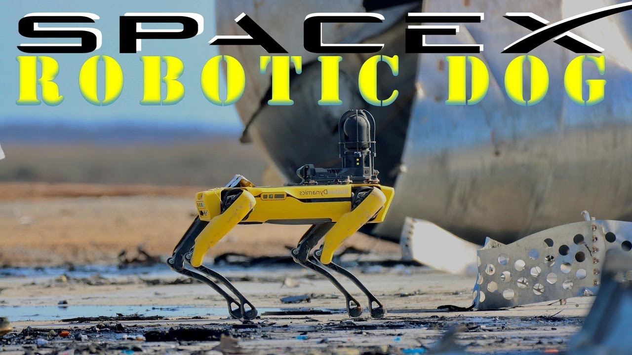 SpaceX uses Robotic Dog to Investigate Starship SN10 Explosion after Landing