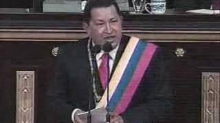 Hugo Chavez y Trostky