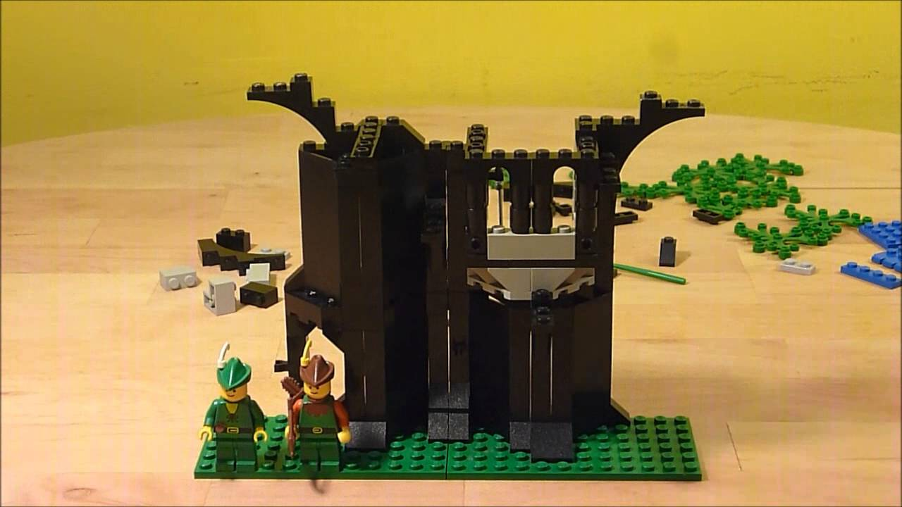 Lego 6054 Forestmens Hideout Castle Theme Forestmen 1988
