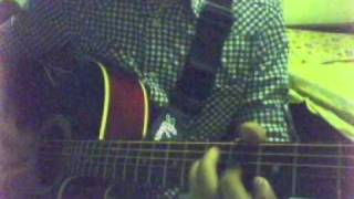 Hi Chal Turu Turu - on Acoustic Guitar