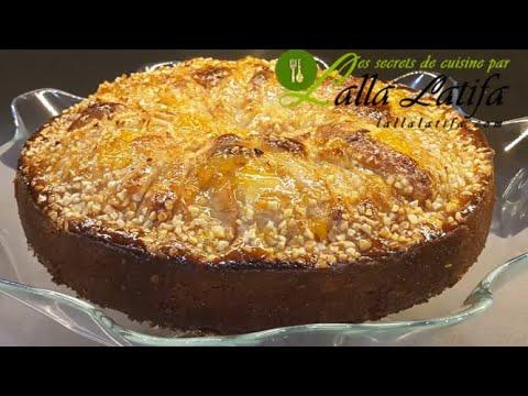 recette-gâteau-moelleux-amande--poire