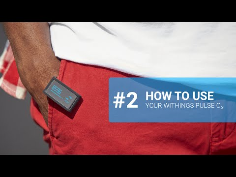 [EN] How to use your Withings Pulse O2