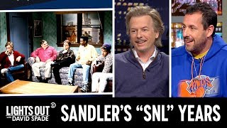 "Adam Sandler Remembers Killing (and Bombing) on ""SNL"" - Lights Out with David Spade"