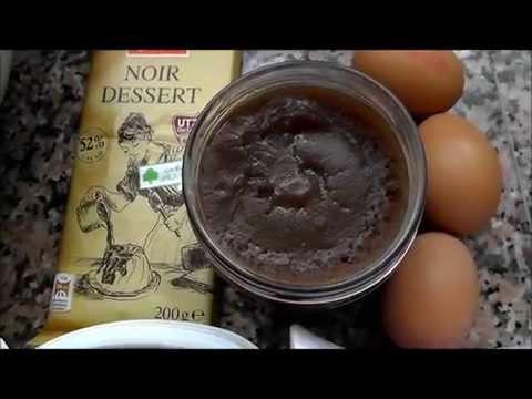 Шоколадный кекс на каштановой