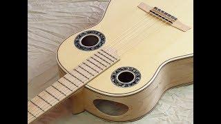 Simplicio 1932a Maple blanca review (affordable) New Generation Andalusian Flamenco Guitars Spain