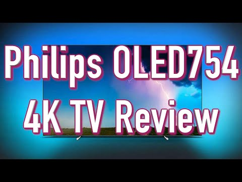 Philips OLED754 4K OLED TV Review - Budget OLED TV under £1000