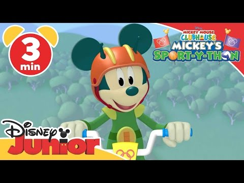 Mickey Mouse Clubhouse | Mickey's Sport-Y-Thon: I Know I Can Song | Disney Junior UK
