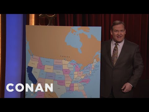 Worried About President Trump? Move North...To California!  - CONAN on TBS