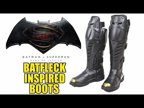 Batsuit 2.0 Update: Batfleck Inspired Boots!!