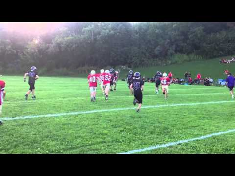 Cambridge scrimmage fly right TD