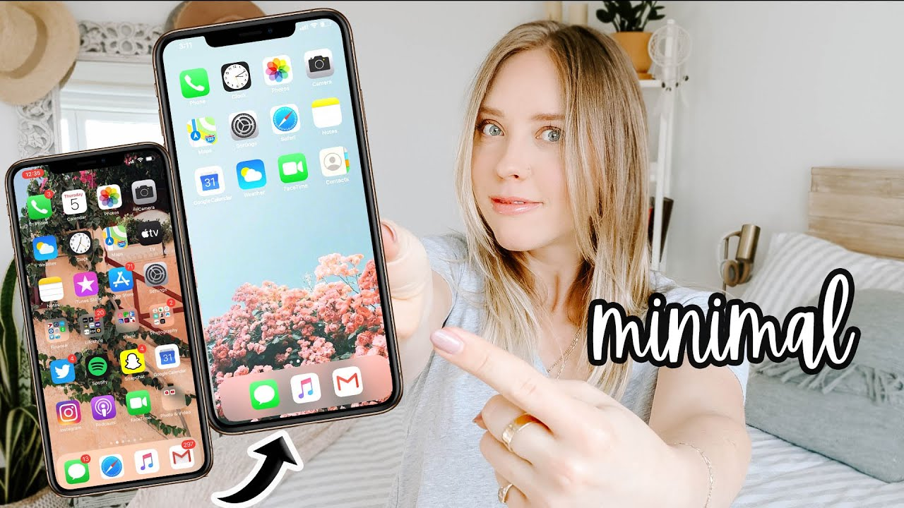 The Best Way To Organize Your Iphone Apps Productivity Tips Youtube