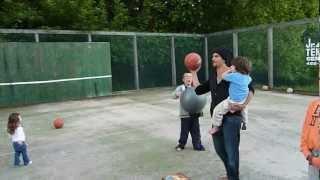 """Miracle Shot"" - Andy Davoli's amazing July 4th basketball shot!"