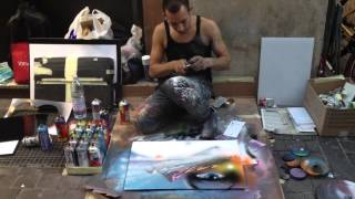 The best street paint artist in the world is in Italy !!!