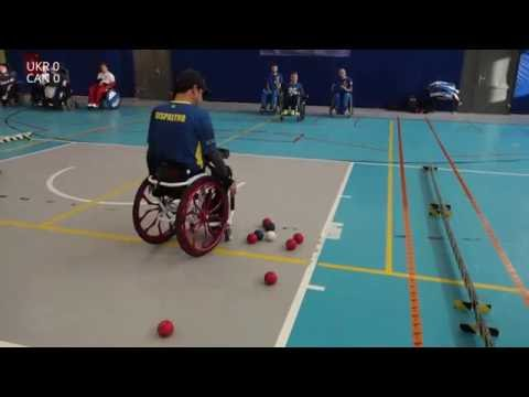 2016 Polska Boccia - BC4 Pairs - Group stage - Ukraine v Can