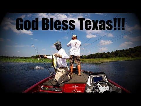 Bass Fishing: God Bless Texas