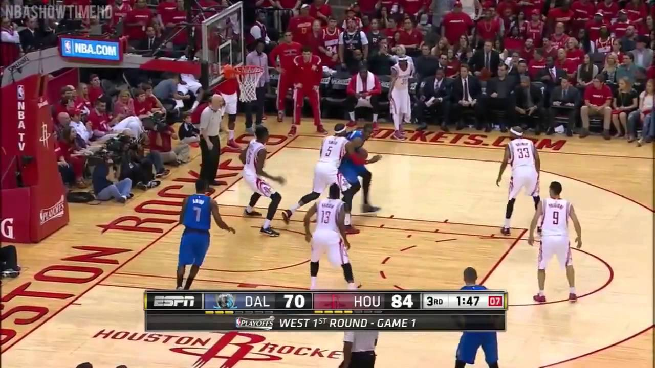 Dallas Mavericks vs Houston Rockets Full Highlights Game 1 April 18, 2015 2015 NBA Playoffs ...