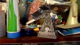 Бумажный дракон с оптической иллюзией слежения(Бумажный дракон с оптической иллюзией слежения Этот волшебный дракон будет постоянно поворачивать голову..., 2015-05-04T14:28:18.000Z)