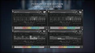 FERRUM: MODERN TRAILER PERCUSSION - FREE EDITION - UNPROCESSED SOUND