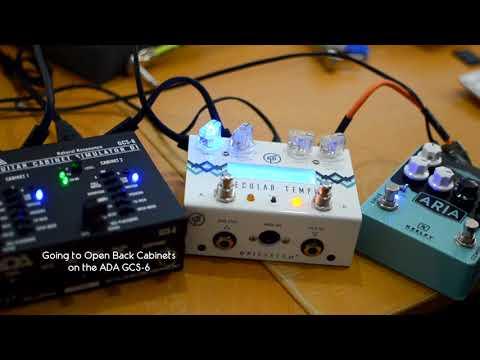 ADA CGS-6 Stereo Cab Sim | Keeley ARIA | GFI System Specular Tempus