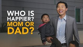 Parents react to hearing that dads are happier parents thumbnail