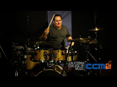 California College of Music: Craig Pilo, Drum Program Chair (Drum Solo)