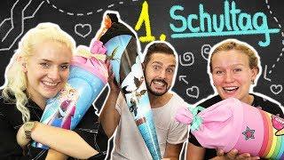 GESCHENKE ZUM 1. SCHULTAG - Was ist in KAAN NINA & KATHIS Schultüte zur Einschulung? Back to School