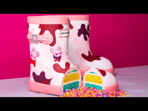 Peppa Pig Boots CAKE! | How To Cake It With Yolanda Gampp