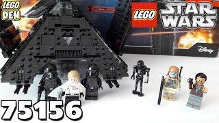 Обзор LEGO Star Wars 75156 - Krennic's Imperial Shuttle (Имперский шаттл Кренника)