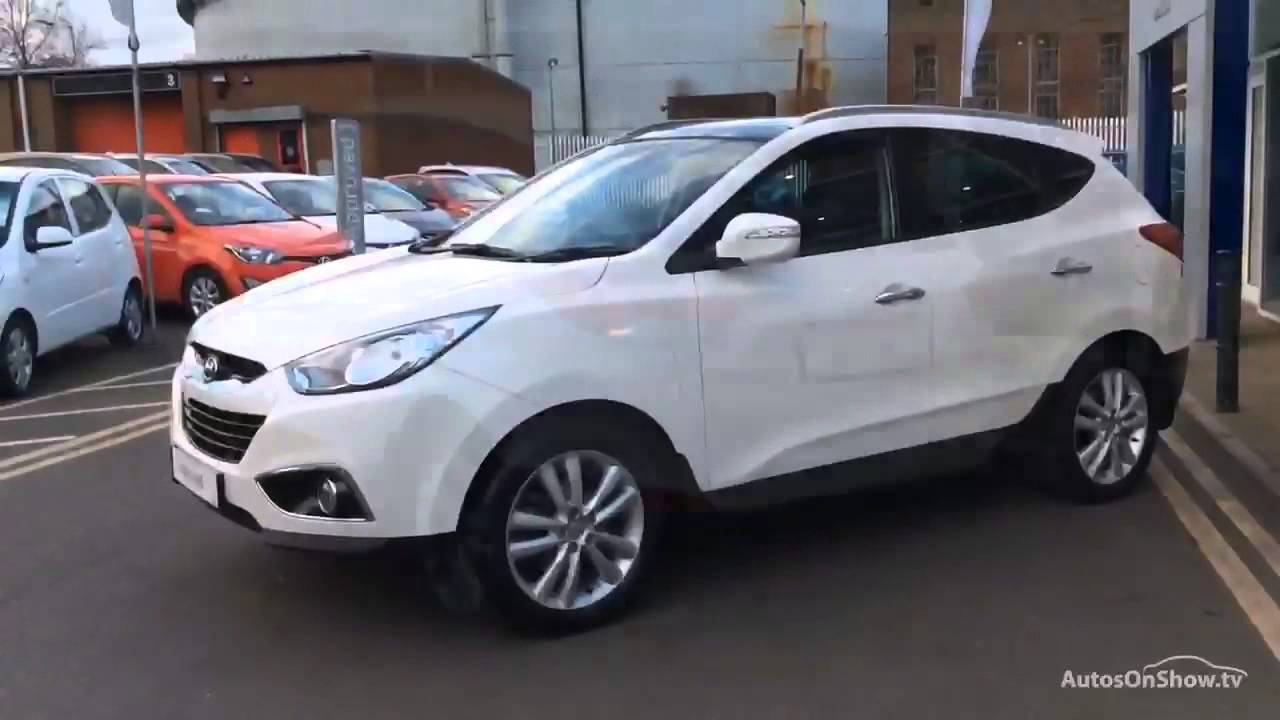 hyundai ix35 premium crdi 4wd white 2013 youtube. Black Bedroom Furniture Sets. Home Design Ideas
