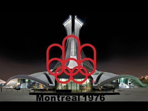 1976 Montreal Olympic Opening Ceremony