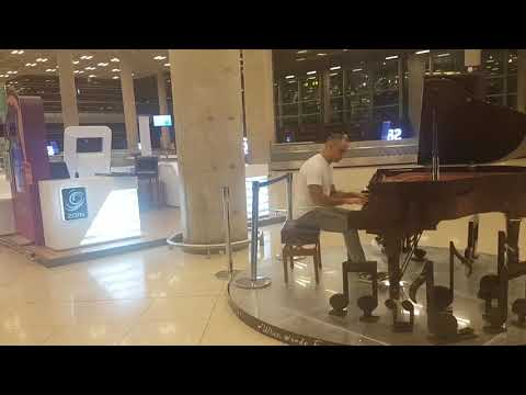 "Queen Alia International Airport; Amman-Jordan  ""Ludovico Einaudi ""FLY"" By Dr.Raed Ayyad"