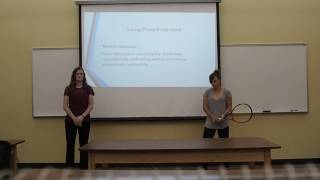 Tennis Backhand Kinesiology Motion Analysis Project Fall Term 1 2016