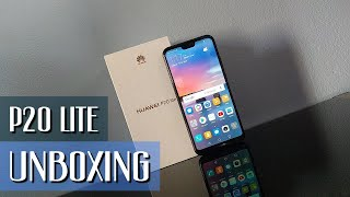 Huawei P20 Lite, unboxing del ¿mejor gama media?