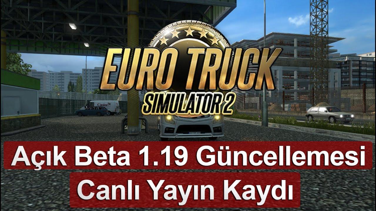 euro truck simulator 2 g ncelleme ncelemesi beta. Black Bedroom Furniture Sets. Home Design Ideas