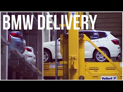 New BMW's Delivery And Sale Preparation