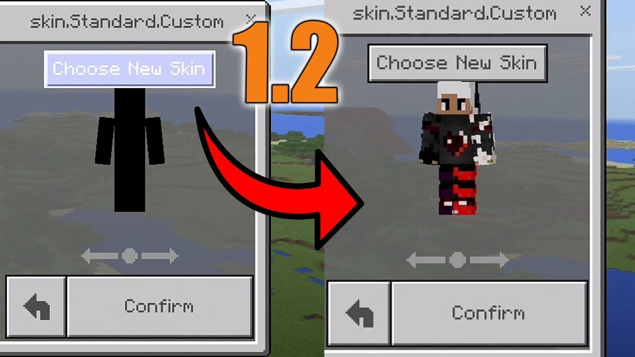 HOW TO FIX SKIN NOT WORKING IN MCPE YouTube - Skins para minecraft pe 0 15 6