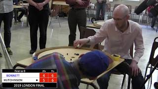 2019 London Crokinole Final - Hutchinson v Bonnett