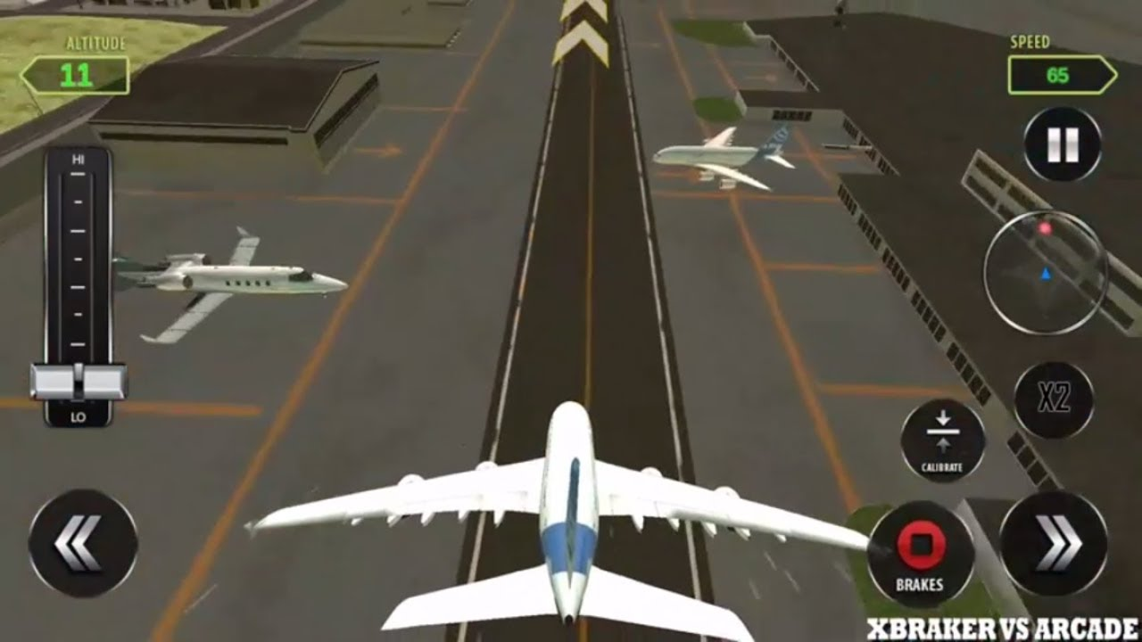 Fly An Airplane Game