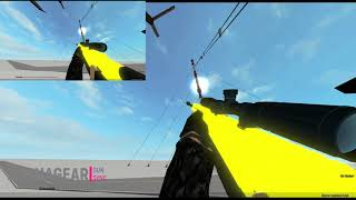 Dance till You're Dead I Roblox Phantom Forces M107 Gun Sync [Short]