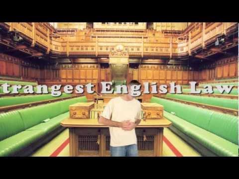 Strangest English Laws