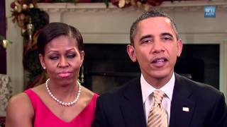 Weekly Address: The President and First Lady Thank our Troops for their Service this Holiday Season