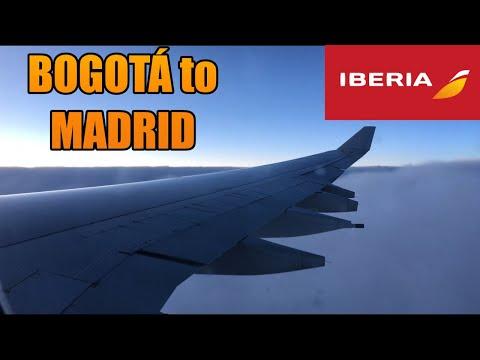 Trans-Atlantic In IBERIA! BOGOTA✈MADRID | TRIP REPORT | AIRBUS A340-642 (#45)