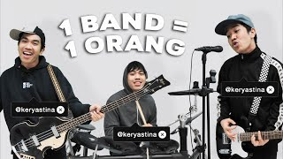Download lagu 1 ORANG = 1 BAND