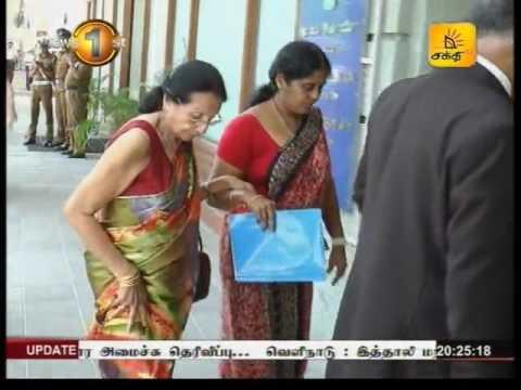 News1st Prime Time News Shakthi TV 8pm 24th August 2016 Clip 10
